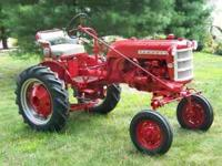 Farmall cub $2500.00 or trade for bigger tracror.