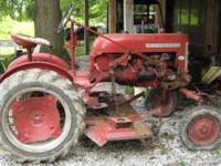 for sale 1960 farmall cub with belly mower have mowed