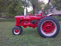 I have for sale a completely restored 1945 Farmall H.