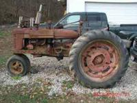 I have for sale a 1940-1941 (i think) Farmall H. The