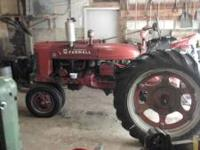 1940 FARMALL H FOR SALE LIKE NEW RUBBER 12-4-38, NICE