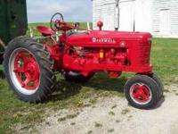 I am selling my dads Farmall H tractor. It is in great