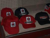 FOR SALE ARE INTERNATIONAL FARMALL HATS. STOP BY OUR
