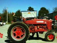I have a M farmall for sale.I bought it for my daughter