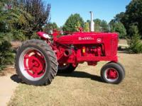 farmall m real nice tractor /power steering call  Must