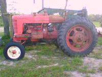 1950 Farmall M For Sale. Has been converted to 12 volt