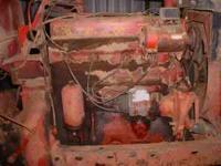 Running Farmall M longblock engine. Compression tests