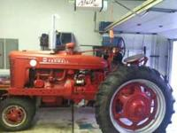 I NEED to sell this tractor and brush hog before winter