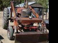 I have a farmall M with a F11 loader it has a new front