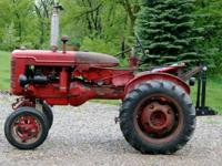 Farmall Super A, 1949 Model FAA Ser# 276588 This is a
