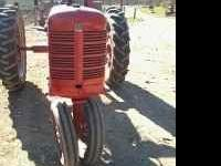 For sale is a nice looking and a good running farmall