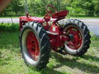 Here is a Great looking Farmall Super C Tractor ready