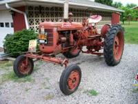 For sale is a 1955 Farmall Super C Tractor. Tractor has
