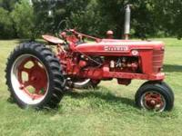 Tractor was purchased several years ago from local