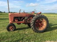 McCormick International Harvester Farmall Super M.