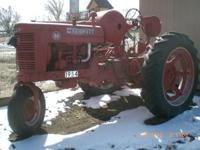 Nice M style Tractor. Complete Restoration. Propane