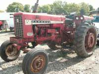 656 FARMALL DIESEL TRACTOR. 5750 HOURS. GOOD SHEET