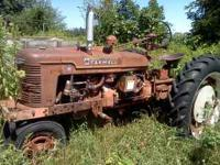 I have 3 farmall tractors for sale. I M with blade and
