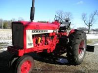 Real nice 1964 Farmall 706 with a 263 gas engine.
