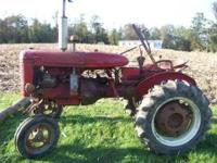 I HAVE A 1946 FARMALL A FOR SALE -6 VOLT SYSTEM-NEW