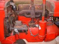 Running Farmall B long block engine that has a welded