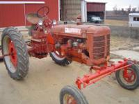 farmall c wide front mower sold call   // //]]>