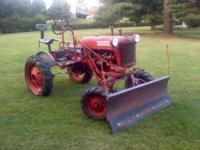 Farmall cub international harvester cub runs and drives