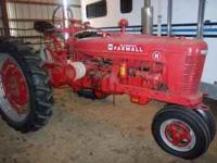 This H is a very nice tractor, alot of new