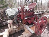 Parting out 1951 Super C. Engine,tank,hood and nose