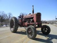 Farmall Super C, Super H w/plow and cultivator, Super