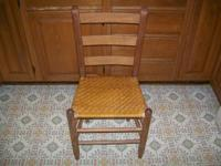 I am selling my antique farmhouse kitchen chair. It has