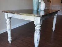 We are selling this beautiful handmade Farmhouse Table