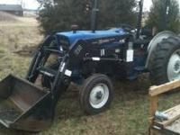 I have a large Farmtrac 45 Diesel tractor for sale or