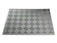 The Fasade 18 in. x 24 in. PVC Mini Quattro Backsplash