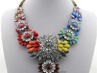Selling different types of necklace. Like our page and