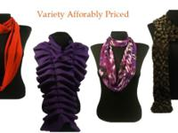 Stunning fashion scarves for all seasons, variety