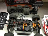 1/8th scale HPI 4x4 buggy in good condition, it's about