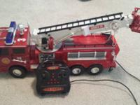 Listing is for the Fast Lane Remote Control Fire Truck.