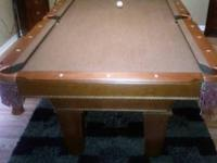 I purchased this pool table in September 2011 for $900.