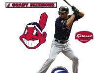Your Grady Sizemore Fathead Jr. has all the fun action