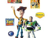 This Fathead Jr. Toy Story Wall Applique features Toy
