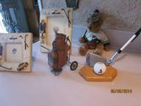 GOLF DECOR-- 2 NEW GOLF FRAMES 4X6 FOR $4 AND 31/2
