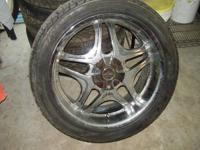 I HAVE 4 TIRES OF 22 INCH AND ONLY 3 RIMS FOR SALE