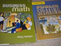 Business Math and Public Speaking Faulkner State
