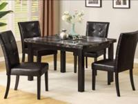 Very Nice Table Set. I could get this table in black or