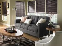 FAUX WOOD BLINDS. Faux wood blinds offer homeowners all