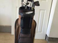 $250/obo This set includes: -1 TaylorMade golf bag -1