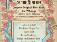 Favorite Songs of the Nineties-complete original sheet
