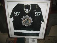 First season Fayetteville Force framed jersey with