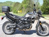 2013 BMW F700GS - This F700GS is in like new condition.